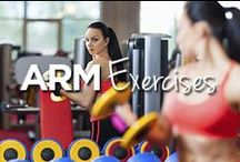 Arm Exercises / by Lucille Roberts | The Women's Gym