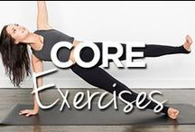 Core Exercises / by Lucille Roberts | The Women's Gym