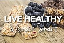 Live Healthy & Snack Smart / by Lucille Roberts | The Women's Gym