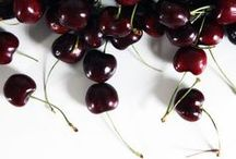 cherries / Delicious, ripe cherry recipes.  / by Brooklyn Supper