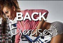 Back Exercises / by Lucille Roberts | The Women's Gym