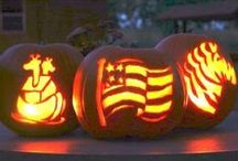 Pumpkin Carving ideas / Pumpkin carving, ideas, decorating pumpkins for fall or halloween. / by ideadesigns