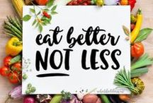 Health Tips from a Dietitian / Diet tips and motivation for a healthy lifestyle.