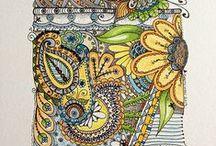 Zentangle/Doodle / by Marcia Bauerle