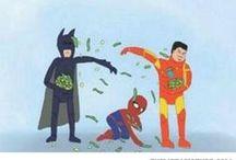 {Geek: Marvel & DC} / Because deep down, we're all heroes. Or villains.
