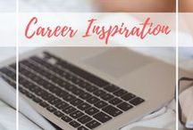 Career Inspiration / Career advice, ideas, career quotes, pins on career change, career development, and choosing a career that matters.