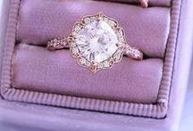 Engagement rings!! / All kinds of engagement rings: old and new, traditional and alternative.