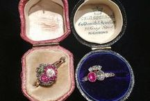 Rings: vintage & antique. / Bling for the fingers! These beauties are all antique and vintage - nothing here from before 1970. For newer rings, please see my contemporary ring board.