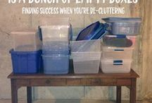 Organization, Function, Useful tips and tricks / Great ideas to complicate life, yet make life easier.  Go figure!