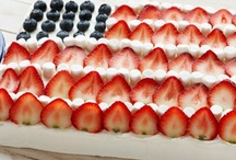 Red, White and Yum! / Of thee I sing…and bake! Does your patriotism come to life in your baking? Show your true colors with recipes that celebrate America. Go, USA!