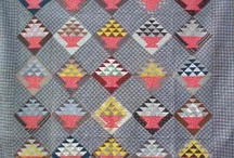 Lovely antique or vintage quilts