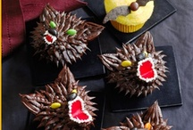 """Halloween / While Halloween night may bring scares and frights, there's no need to be spooked in the kitchen. When little costumed creatures ask """"trick or treat?"""" we suggest serving these scarily awesome sweets!"""