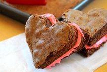 """Valentine's Day / Say """"Be Mine"""" with baked treats for all of your sweets! These decadent delights are perfect for kids, co-workers and significant others. Spread the love…"""