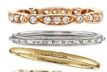 Wedding bands. / Ways to represent forever.  / by Becky - Diamonds in the Library