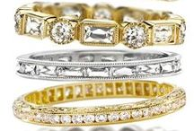 Wedding bands. / Ways to represent forever.