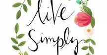 LovelyLiving / A board dedicated to helping you learn how to eat healthy, stay fit and feel your best.
