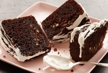 """Chocolate / """"Forget love,"""" the saying goes, """"I'd rather fall in chocolate!"""" Feed your chocolate obsession with these decadently dark desserts…"""