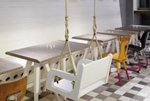 coffee counters and fab cafe furniture / by Aimee Quinn