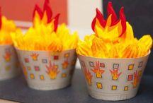 Fireman Birthday / Ideas for Nino's 4th birthday