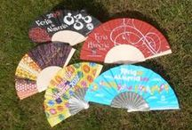 Hand Fans - Feria de Almeria / Official fans used at the Almeria feria