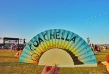 Coachella Hand Fans / Hand Fans are becoming the fashion accessory of choice among the fashionistas nowadays. Here are some of the hand fans used at my favorite festival 'Coachella' www.katedengra.com