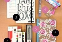 Stylish Stationery / Beautiful patterns and designs for all the stationery you could ever need.