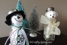 Christmas Crafts & Ideas / ideas for Christmas decorating, crafting and gift giving