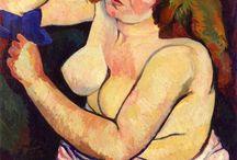 Artist Suzanne Valadon