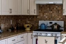 Neutral Kitchen / This is a neutral color pallet kitchen