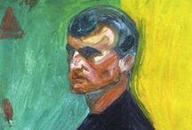 Artist Edvard Munch