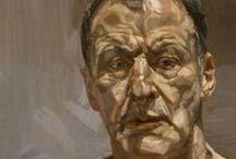 Artist Lucian Freud