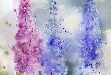 A R T / Schilderen | aquarel | tekenen | prenten | watercolor