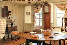 Delightful room settings / by Linda Rudman Behind My Red Door