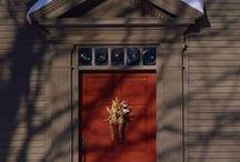 Love a red door! / by Linda Rudman Behind My Red Door