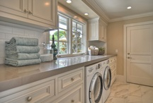 Laundry rooms / by Greta McCarty