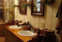 Bathrooms  / by Linda Rudman Behind My Red Door