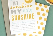 my work: you are my sunshine party / My daughter's second birthday party / by Joelle Segal | inBloom Studio