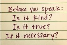Kind, caring, grateful / by Linda Rudman Behind My Red Door