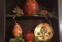 Our home ~ Christmas 2013 / by Linda Rudman Behind My Red Door