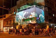 [Eventos] Ipanema Wal / A cada 6 meses, um artista diferente ocupa a fachada da nossa flagship em Ipanema. E para o homenagear o artista e o lançamento de nossas coleções realizamos uma festa!