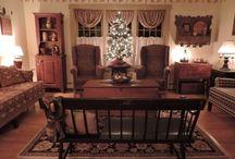 A Bit of Christmas Behind My Red Door 2015 / by Linda Rudman Behind My Red Door