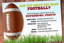 Superbowl (Finger Foods & Football) / Party foods, especially my favorite, Buffalo Wings! Also guac (Superbowl is the peak avocado sales day every year). Plus anything football party themed.