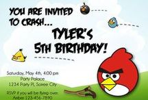 Angry Birds Party / Angry Birds game-inspired parties!