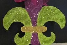 Mardi Gras / Fat Tuesday celebrations - decor & food