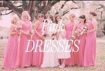 Pink Bridesmaid Dresses / Inspiration for pink bridesmaid dresses.