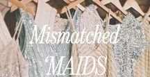Mix & Match Bridesmaid Dresses | Brideside / Mix and Match bridesmaids dresses are where its at! Find the right style for each of your girls at Brideside.