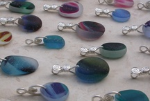 Sea Glass Jewelry With English Sea Glass / Handmade jewelry with sea glass from England