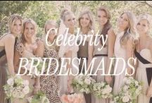 Celebrity Bridesmaids / Celebrities are bridesmaids too and often they're at the forefront of fashion. We love getting inspiration from Molly, Rachel, Jessica and many more...
