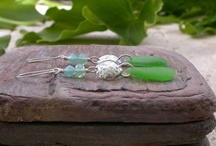 Out Of The Blue Sea Glass Jewelry / I have been making sea glass jewelry since 1987 and I love it!