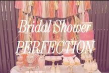 Bridal Shower Perfection / Inspiration for planning a beautiful and delicious bridal shower.